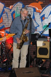 Loren, saxophone and when his lips aren't on the reed, he sings background vocals too.