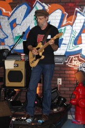 George, lead guitar