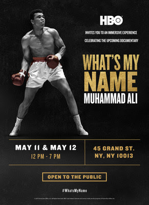 HBO Sports® to Celebrate 'What's My Name   Muhammad Ali' Documentary with NYC Pop-Up Experience