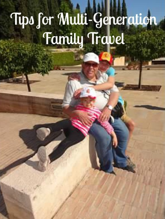 Planning tips for multi generation family travel