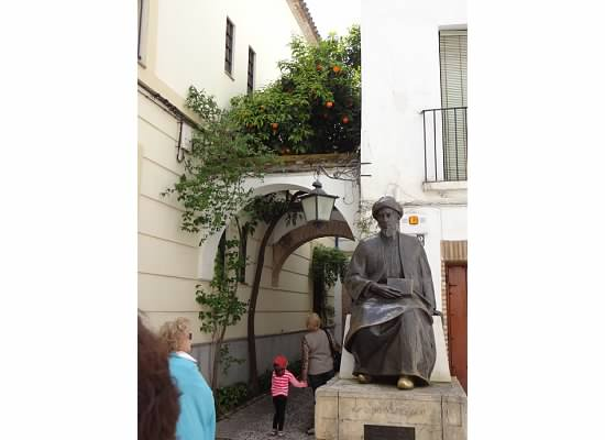 Cordoba is the birthplace of the famous Jewish scholar and Middle Ages medicine man Maimonides