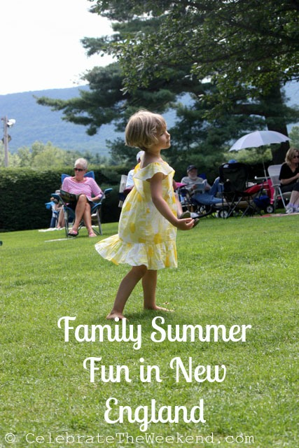 Family Summer Fun in New England