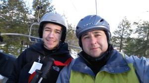 Even hard to please teens enjoy a healthy fun of skiing