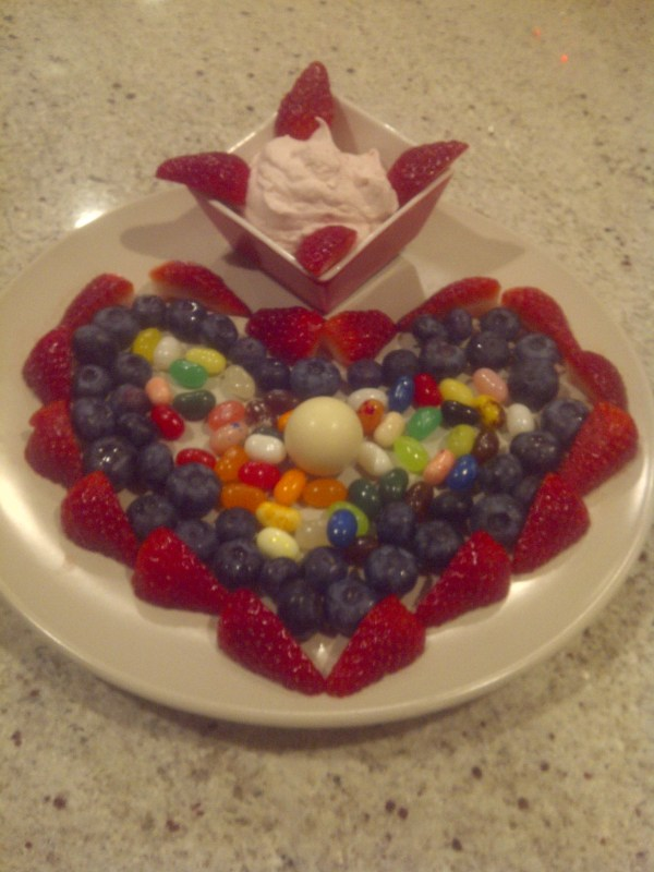 Make this Simple (no baking) Valentine's Treat for your kids