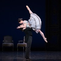 Kathleen Breen Combes and Yury Yanowsky of Boston Ballet in Val Caniparoli's Lady of the Camellias ©Gene