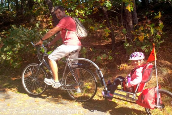 Biking at Cape Cod Rail Trail