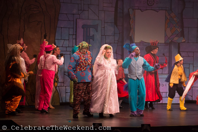 Shrek the Musical at Wheelock Family Theater