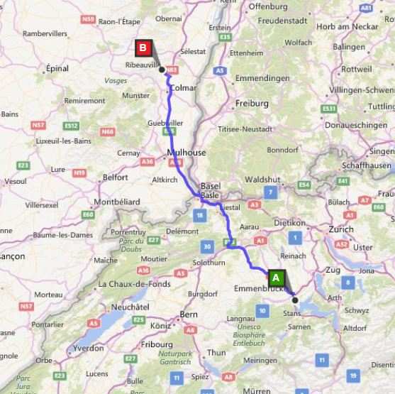 15day Family European Road Trip Itinerary With Maps: Road Map Of Germany And Austria At Infoasik.co