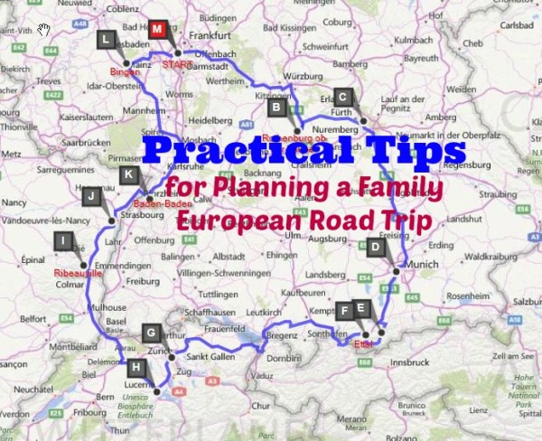 Practical tips for planning family European road trip: where to start, what worked and what we would change