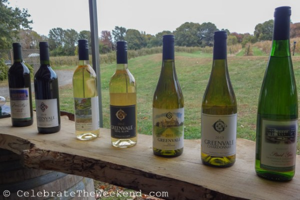 Visiting Greenvale Vineyards in Newport, Rhode Island