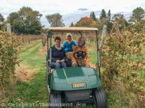 Put a visit to a vineyards on your New England fall TO DO list.