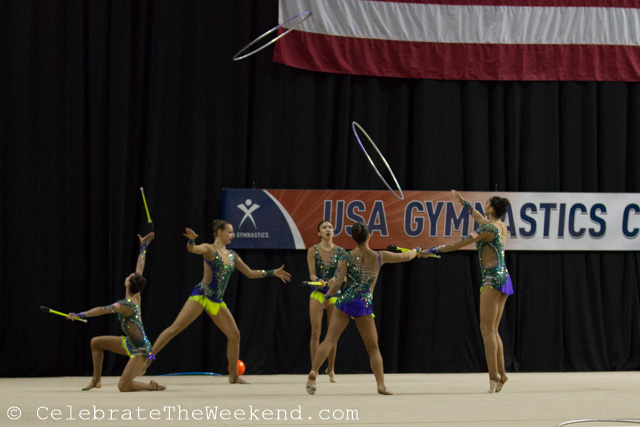 Rhythmic Gymnastics in America: On the Way to Rio
