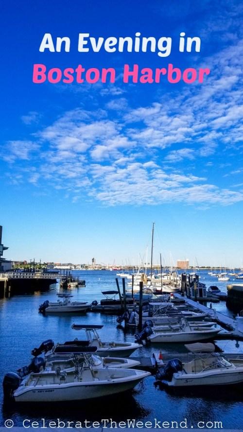 An evening in Boston Harbor