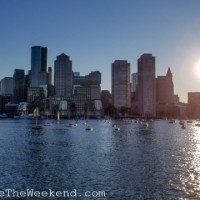 Evening in Boston Harbor