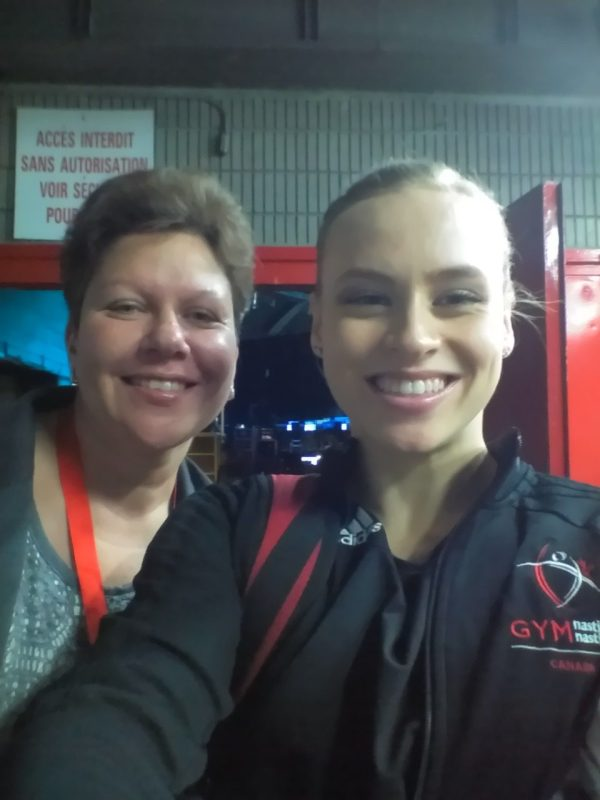 My Montreal Gymnastics Worlds moments- in pictures