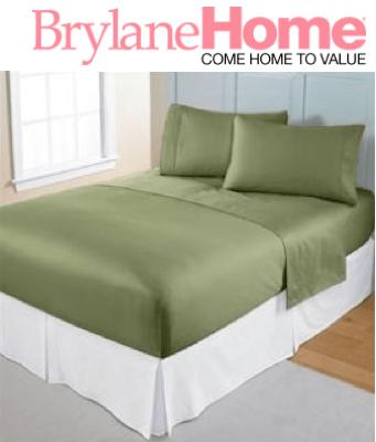BrylaneHome-ConciergeCollection-SleepTite-SheetSet-sage