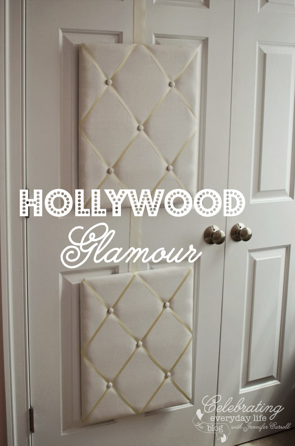 French Memory Boards On Closet Doors, Padded/Quilted Closet Doors