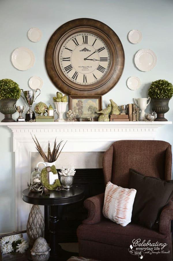 Wall Clock Decorating Ideas Makipera