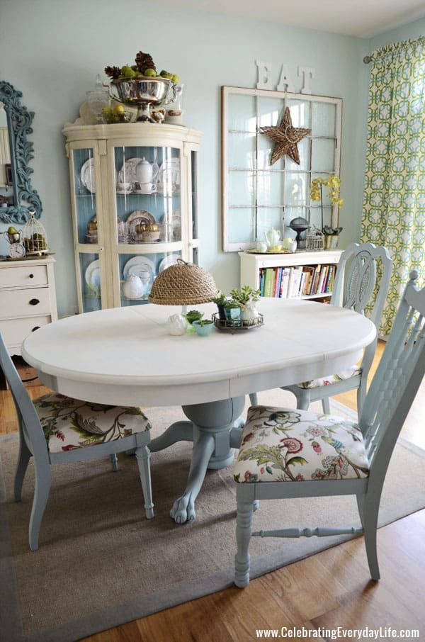 Mismatched Chair Makeover