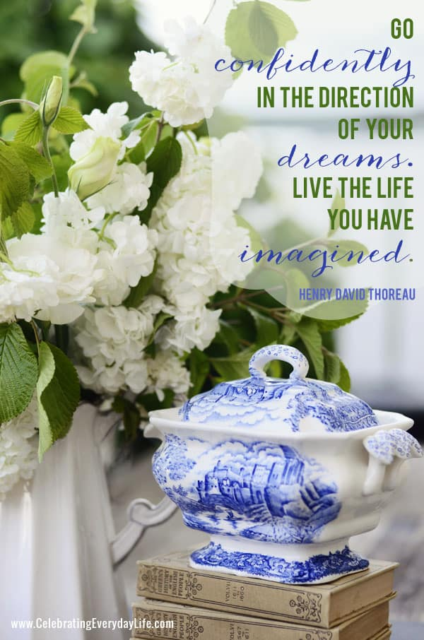 Inspiring Quote Go Confidently In The Direction Of Your Dreams Quote