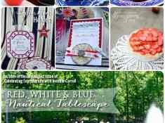July 4th recipes and craft ideas, Celebrating Everyday Life blog