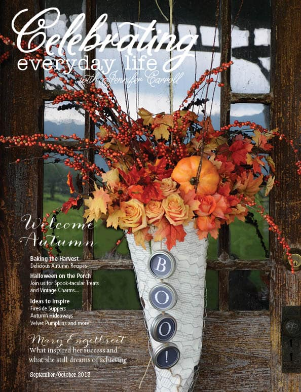 Celebrating Everyday Life with Jennifer Carroll September|October 2013 Cover Image