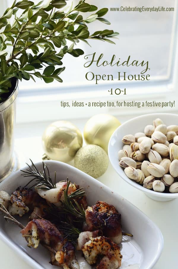 Open House Christmas Party Ideas Part - 47: Holiday Open House 101, How To Host A Holiday Open House, Celebrating  Everyday Life