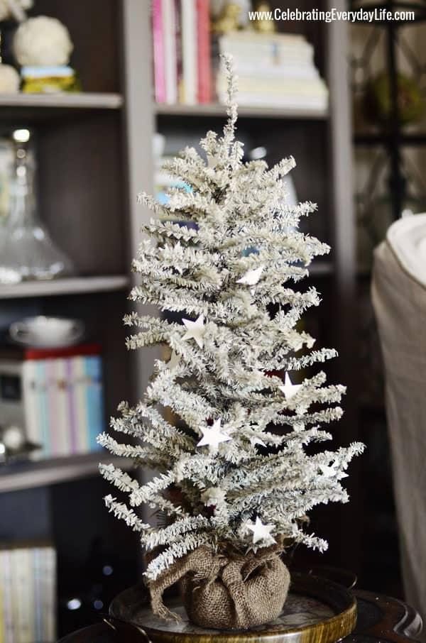 White Christmas Tree, Celebrating Everyday Life with Jennifer Carroll