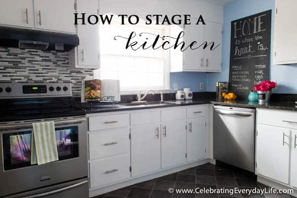 Incroyable Home Staging Before + After, Home Staging Ideas, How To Stage A Kitchen,