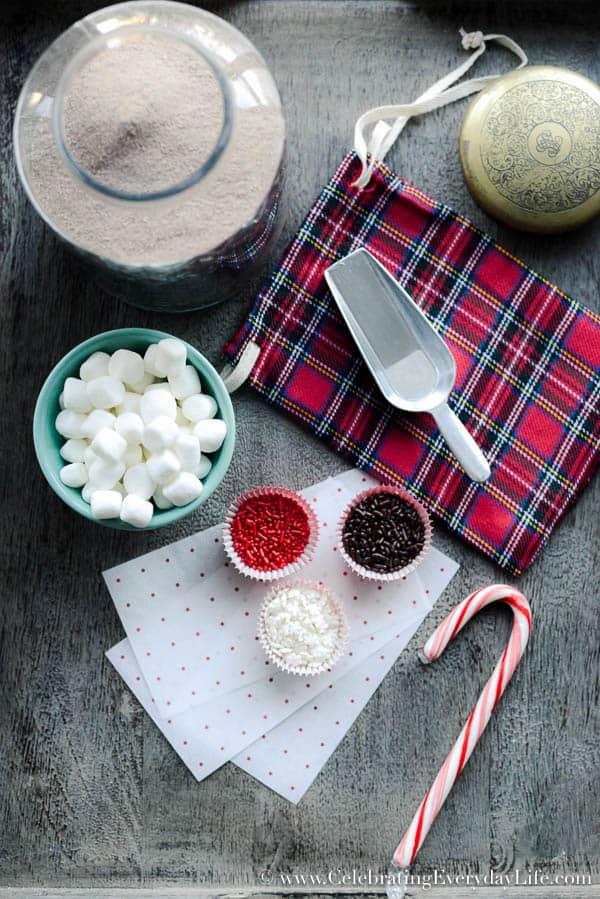 Christmas hostess gift ideas diy