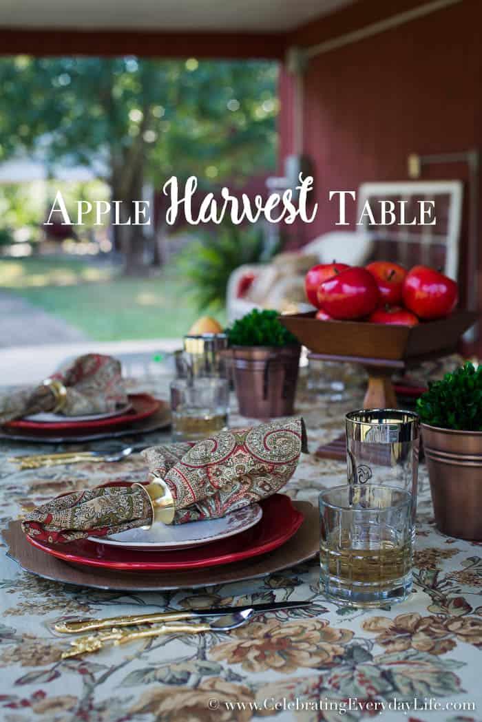 Apple Harvest Table