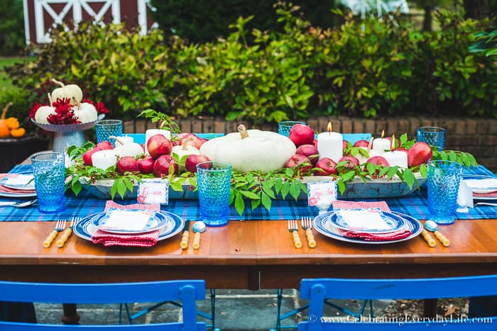 How to make an easy and pretty Thanksgiving centerpiece