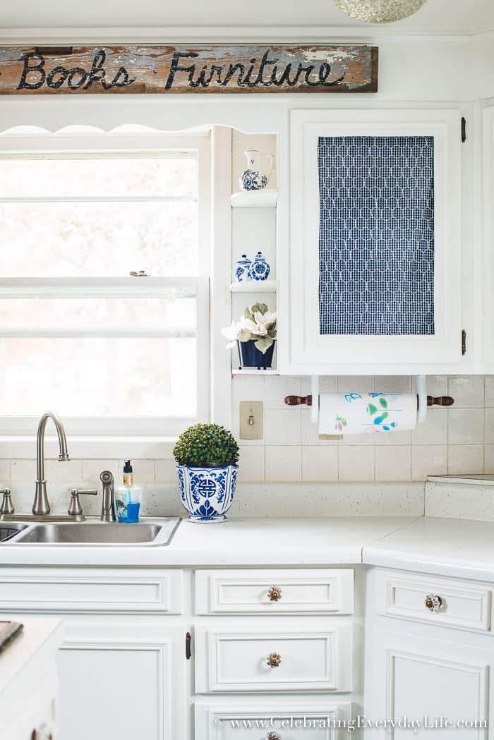 How to Make Old Cabinets Look New with Paint! | Celebrating Everyday ...