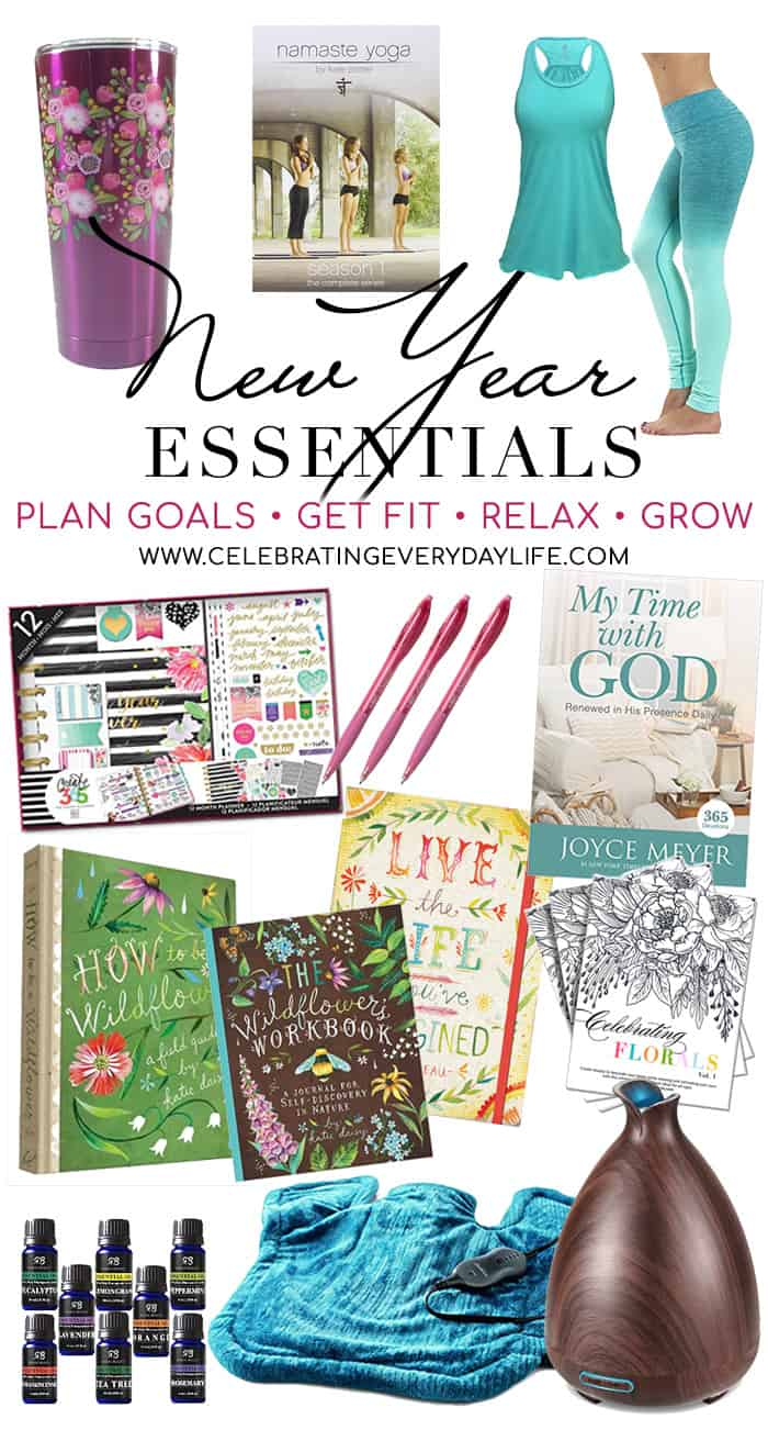 My favorite things to get ready for the new year!