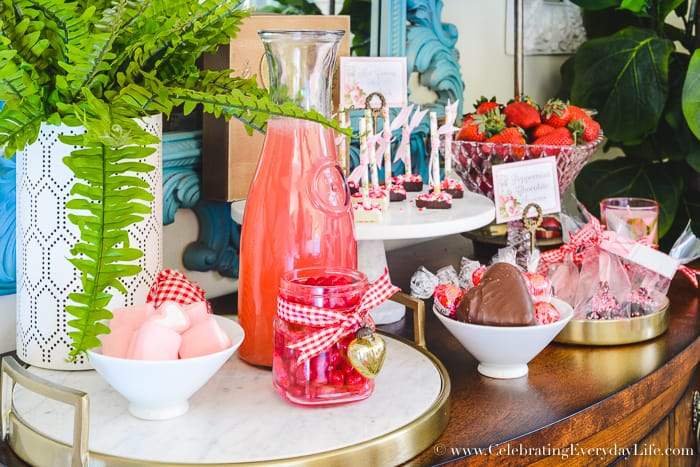 Sweet treat Valentine's Day buffet, How to Host a Fantastic Galentine's Day Party, How to Host a Fantastic Valentine's Day party, Valentine Party Tips, Valentine Party Ideas, Tips to host the best ever Valentine's Day party!, Tips to host the best ever Galentine's Day party!, What is a Galentine's Day Party? 11 tips to make your Galentine's Day/Valentine's Day party your best party this year!