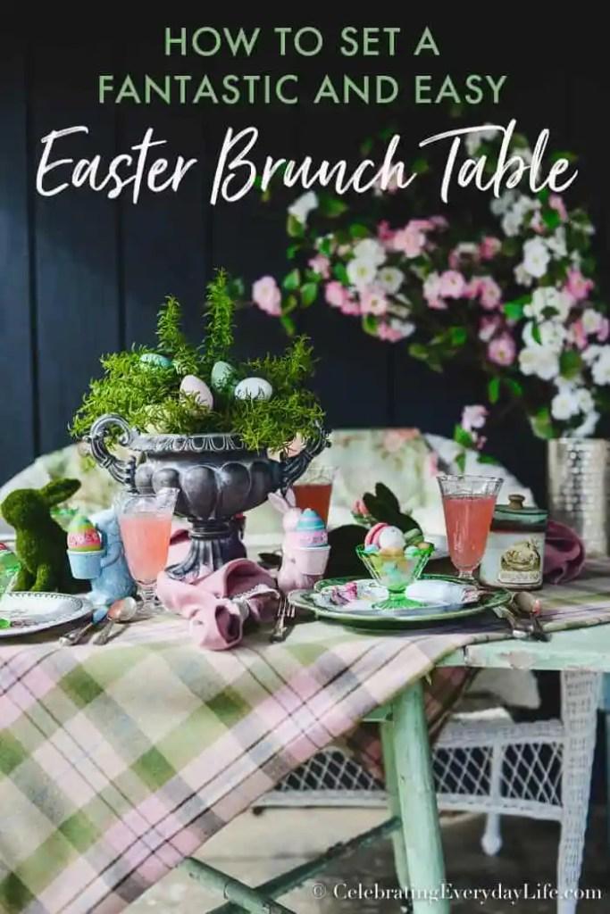 How to Set a Fantastic and Easy Easter Brunch Table Feature, Easy ideas to set a Beautiful Easter table, CelebratingEverydayLife.com