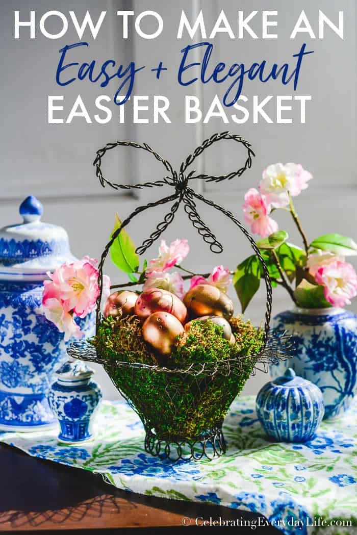 How to Make Easy and Elegant Easter Decor