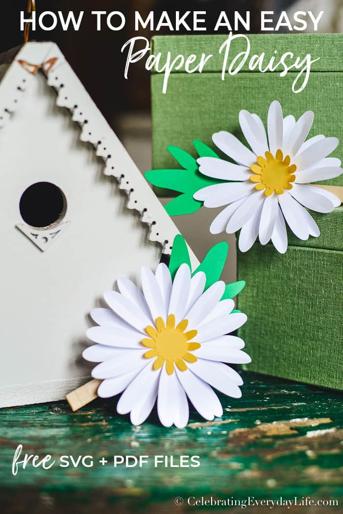 How to make an easy paper daisy celebrating everyday life with up with this super simple daisy craft for the girls and today im sharing it with you too please let me show you how to make an easy paper daisy mightylinksfo Gallery
