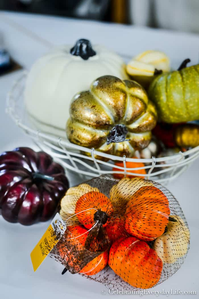 How To Update Old Fall Decorations With Paint Or How To Paint - How to paint a pumpkin