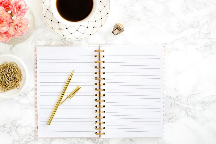 A productivity journal is a great tool to help you stay organized, set and define goals, store important information, and track your progress.