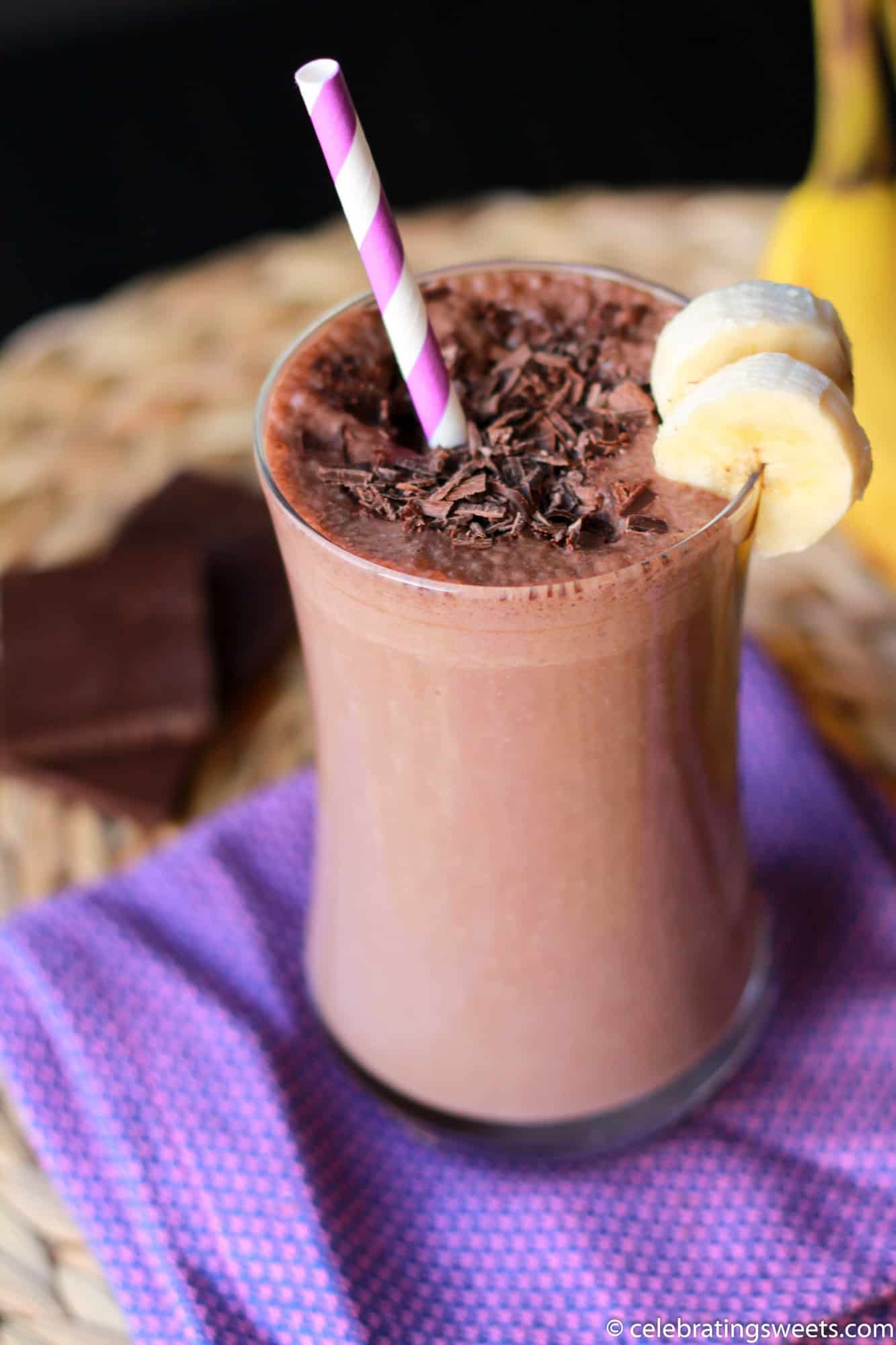 How To Make A Chocolate Smoothie Without Bananas