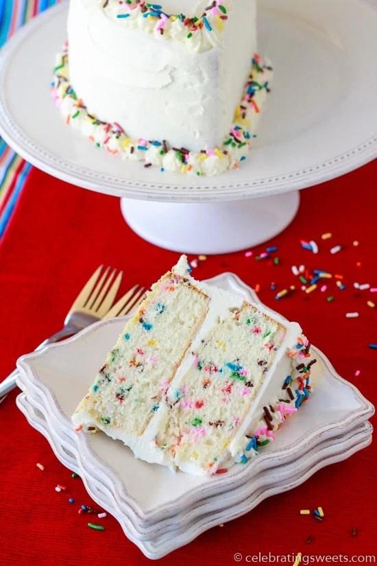 Half Birthday Cake Celebrating Sweets