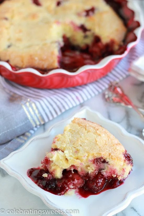An amazing (and easy!) recipe for Warm Berry Cake