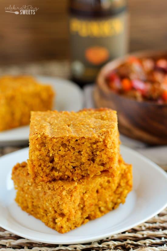 Pumpkin Cornbread (Gluten Free Option)