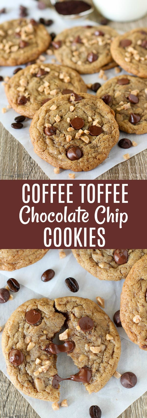 Toffee Chocolate Chip Cookies Nutrition