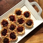 Dark Cherry and Brie Phyllo Bites