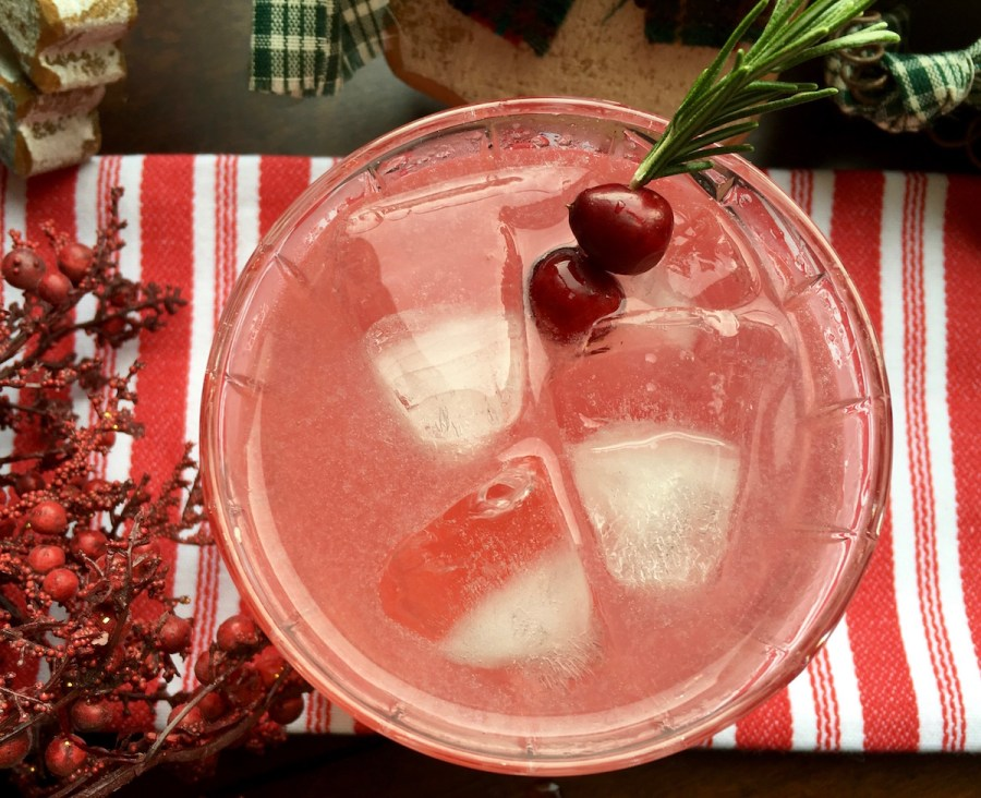 Holiday cocktail recipes: Festive Cranberry Margarita