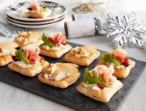 Puff-Pastry Holiday Canapes – 2 Ways