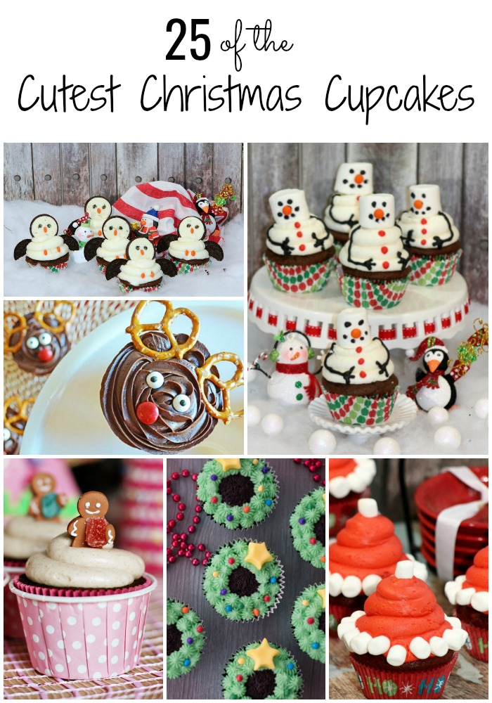 25 of the Cutest Christmas Cupcakes