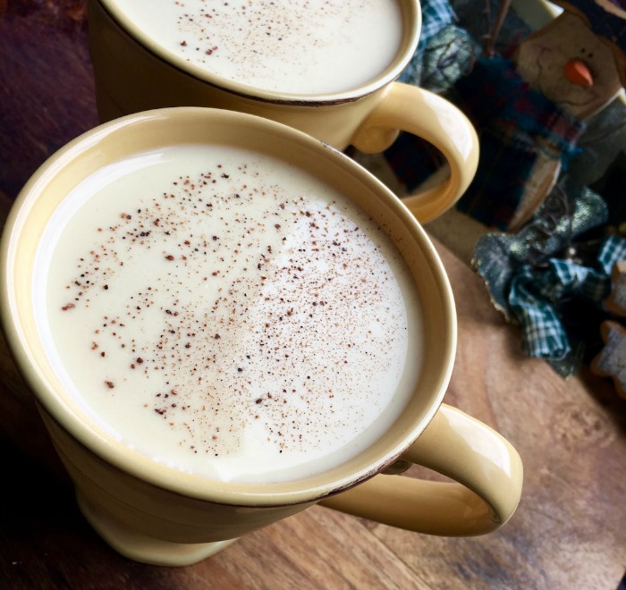 Homemade Eggnog Recipe - make it with or without alcohol.